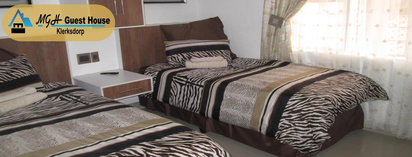 En-suite twin rooms